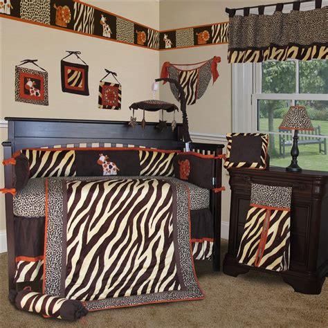 Zebra Crib Bumper by Baby Boutique Brown Zebra 15 Boy Crib Nursery
