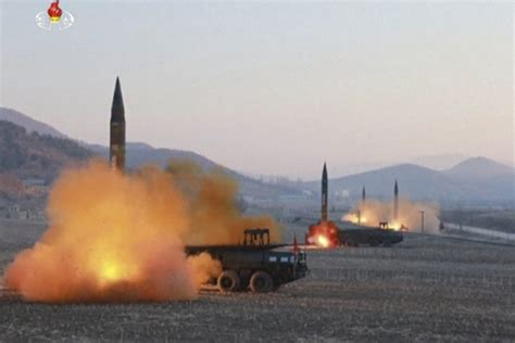 north korea missile north korea test fires another missile from western region