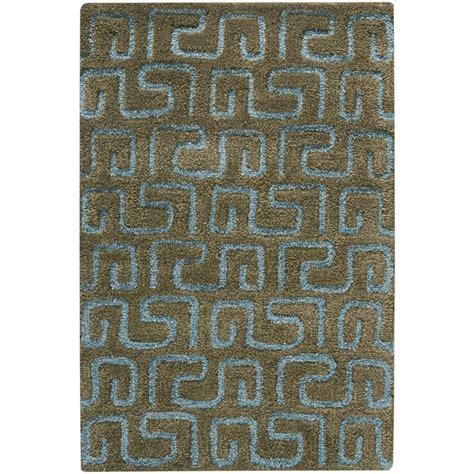 Safavieh Intl Llc - safavieh soh416b soho contemporary tufted wool rug