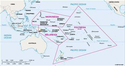 map of polynesia map still oceania is traditionally divided into three