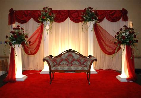 Stage Decoration Simple by Beautiful Wedding Stage Wedding Style Guide