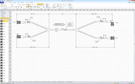 visio drawing ade cae technologies