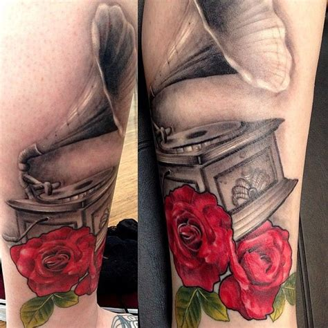 ink addiction tattoo best 25 gramophone ideas only on