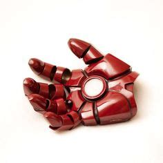 Origami Iron Glove - wearable iron mask template thread tools for