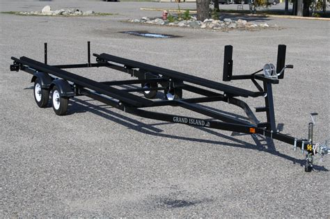 boat trailer dual axle 22ft to 25ft dual axle bunk trailer t m marine
