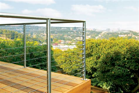 Stainless Steel Deck Railing by Stainless Steel Cable Railing Systems Railing Stairs And