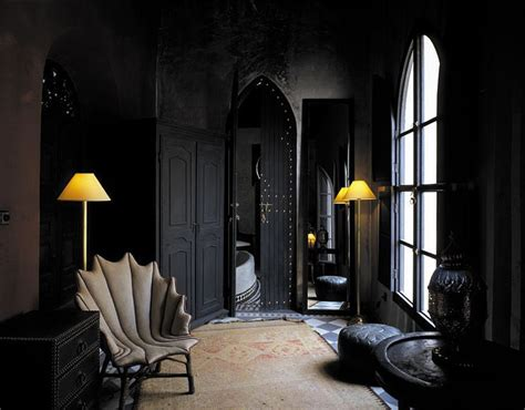Black On Black Moroccan Design Panda S House