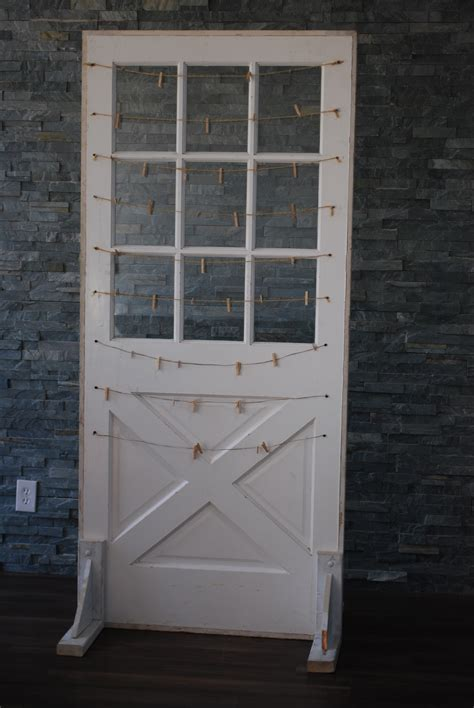 Door Rentals by Door Free Standing White With Windows Platinum Event