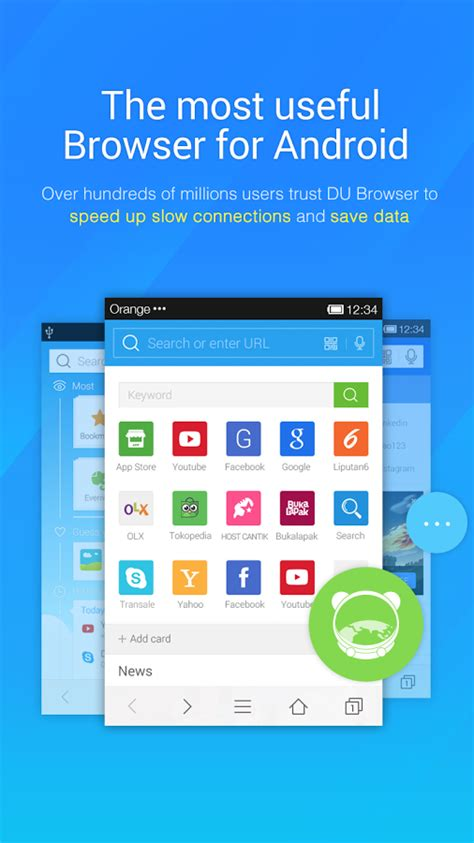 fast browser for android du browser install android apps cafe bazaar