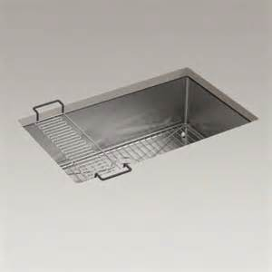 Kitchen Sink Drain Rack Kohler K 5409 Na Strive 30 Undermount Single Bowl Kitchen Sink With Basin Rack