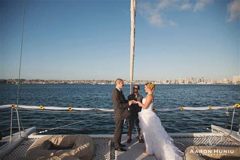 aolani catamaran san diego aolani catamaran wedding jennifer joseph san diego