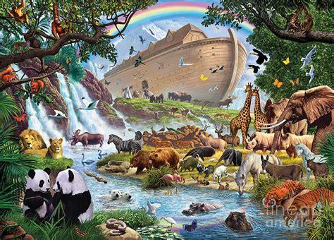 Bible Wall Murals noahs ark the homecoming digital art by steve crisp