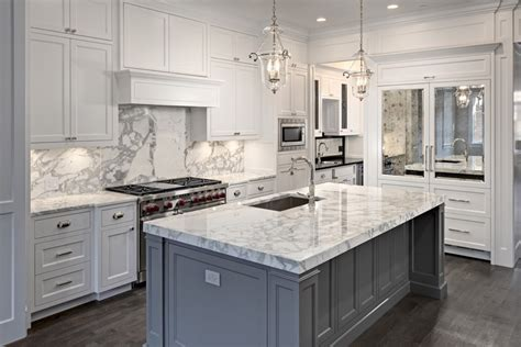 carrara marble kitchen island 63 beautiful traditional kitchen designs designing idea