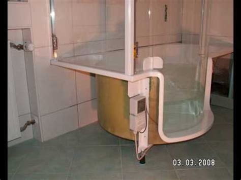 Einbau Dusch Badewanne Line Artweger Vorher Nachher