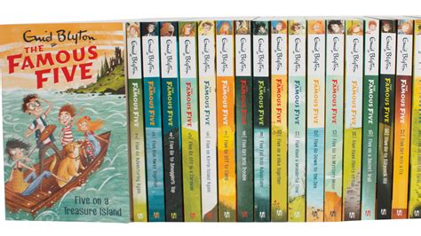 Five Books by Win 163 500 Worth Of Enid Blyton Books The Big Issue