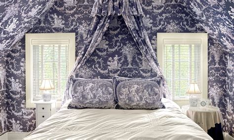 french toile bedroom chic toile bedding in bedroom traditional with french