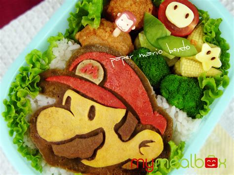 Some Sushi Mario Style With The Mario Bento Boxes by Japanese Lunchbox Bento Box Punipunijapan