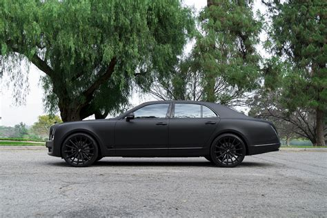 matte black bentley mulsanne murdered out bentley mulsanne is it sick or does it make