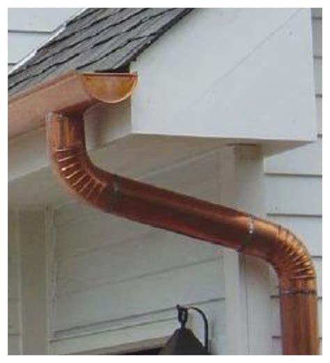 K Style Plastic Gutter Outside Corner - copper gutters