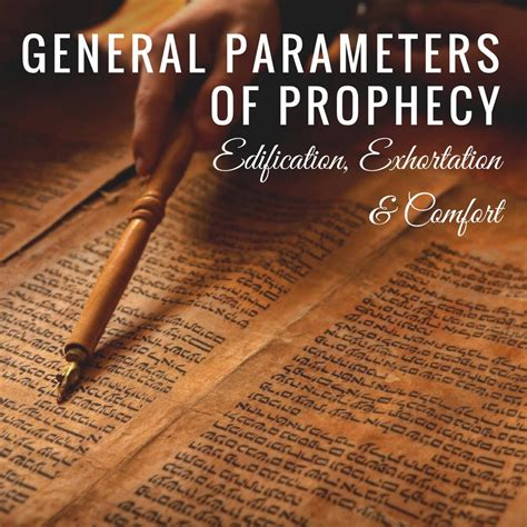 prophecy is for edification exhortation and comfort home desiree m mondesir
