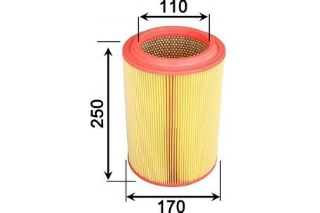 Filter Solar Kia a9325 air filter kia pu turbo diesel 4cyl dohc j3 eng