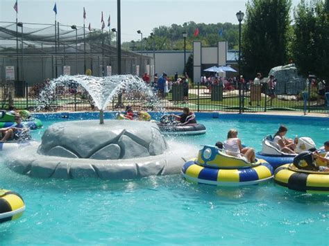 swing around fun town st louis bumper boats picture of swing a round fun town fenton
