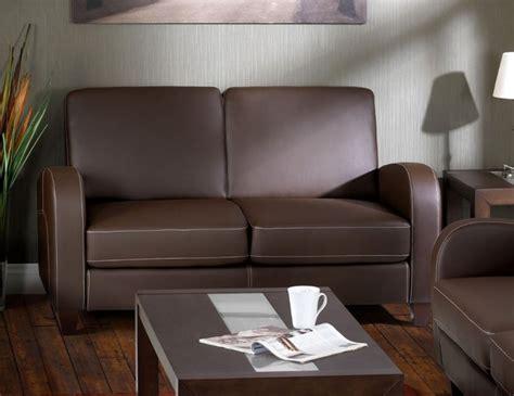 Faux Leather 2 Seater Sofa Vivo 2 Seater Faux Leather Sofa