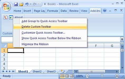 xstandard developer s guide toolbar customization buttons add in tab in excel 2010 missing troubleshooting the tdm