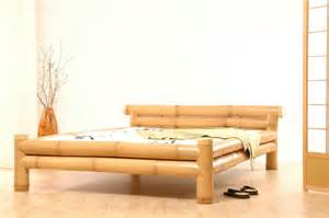 bamboo bed frame cool decoration ideas