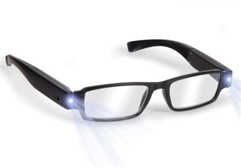 the rechargeable led reading glasses gadgets matrix