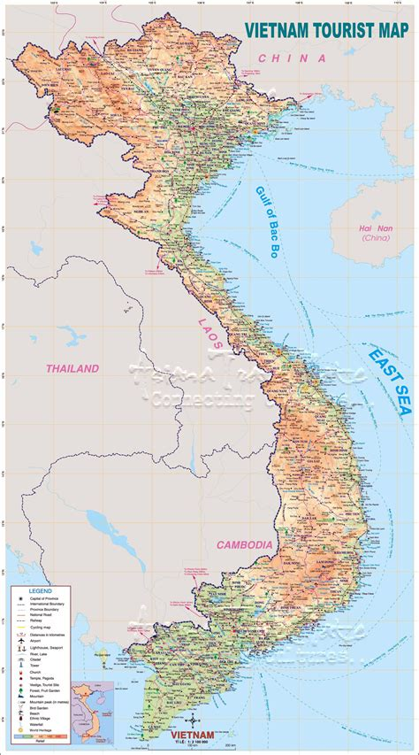 printable maps vietnam vietnam maps printable maps of vietnam for download
