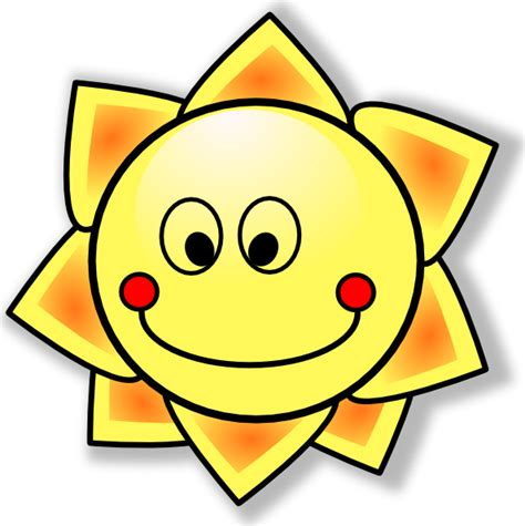 sole clipart smiling sun clip at clker vector clip
