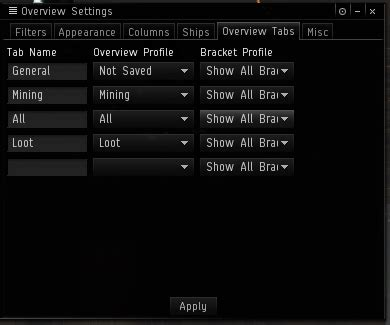 black color names how to add colour to overview tabs in