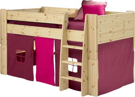 steens for mid sleeper tent in purple and pink