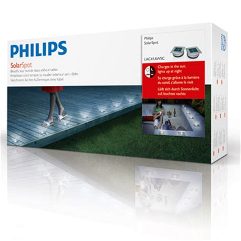 philips solar light price philips solarspot solar powered led lights two pack new ebay