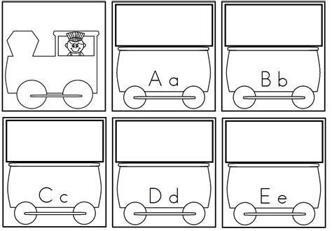 printable alphabet train a child s place april 2013