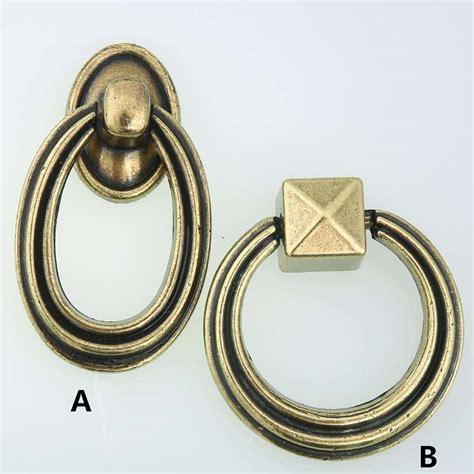 black ring pull cabinet handles modern simple black drop rings cabinet knobs pulls