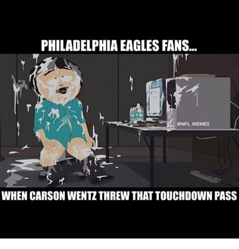 Philadelphia Eagles Memes - philadelphia eagles fans nfl memes when carson wentzthrew