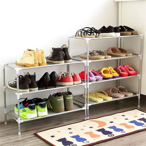 Cheap Shoe Racks by Shoe Storage Solutions Storage Ideas