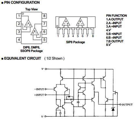 transistor lifiers pdf jrc2068 datasheet njm2068 operational lifier jrc