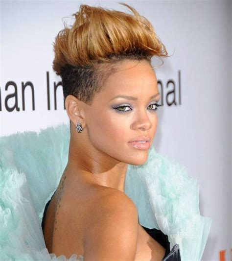 Rihanna Mohawk Hairstyles by 15 Mohawk Haircut Ideas Designs Hairstyles Design