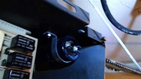 faulty garage door capacitor garage door opener faulty capacitor repair part 2