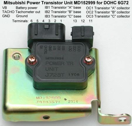 transistor unit stealth 316 power transistor unit