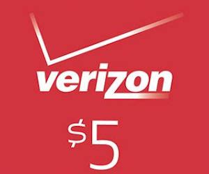 Verizon Gift Card Promo - free 5 verizon gift card with verizon smart rewards free product sles