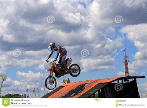 Poster Trail Bike Stunt S05 stunt biker stock images image 6236484