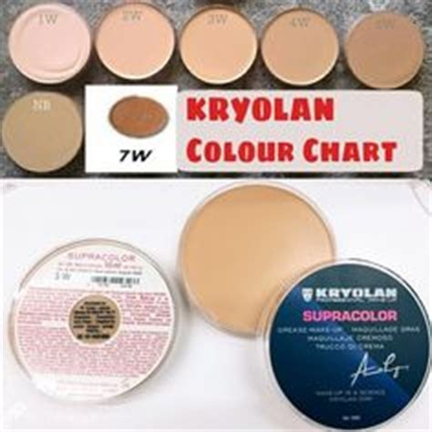 Kryolan Supracolor Foundation Bpom Supra Color Paling Besar 1000 images about kryolan on foundation