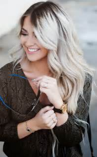 Grey ombre hair color with makeup for women with gray hair also grey