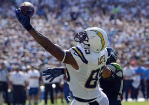 gates san diego chargers seahawks upset by antonio gates san diego chargers 30 21
