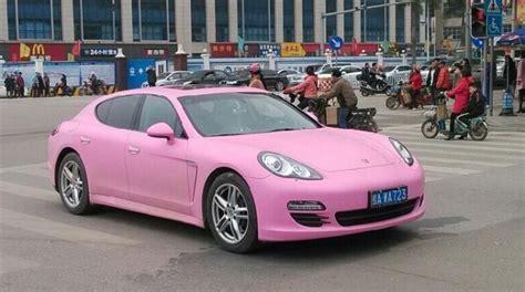 pink porsche panamera pink porsche panamera in china autoevolution