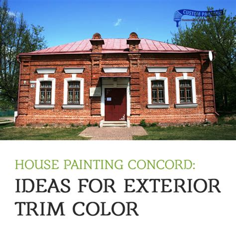 house painting concord ideas for exterior trim color